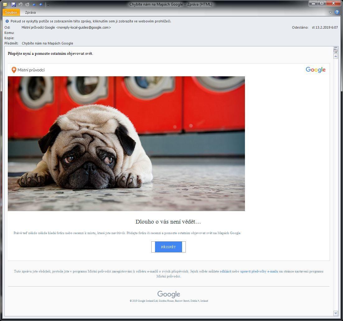 Jak vraci navstevnika zpatky dohry Google